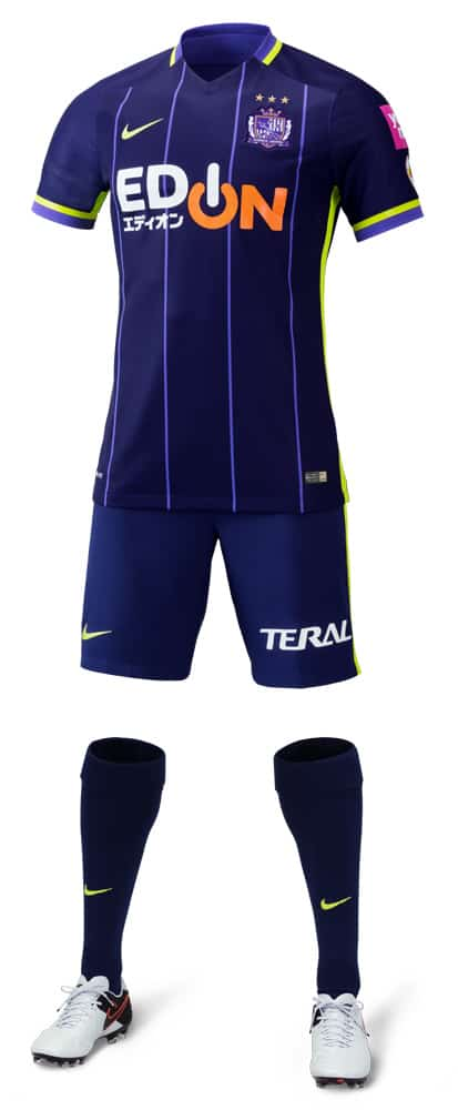 Full 2016 Sanfrecce home uniform