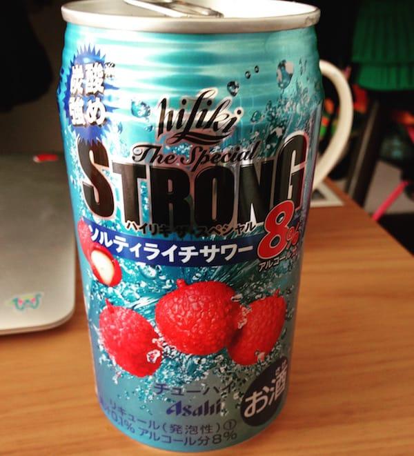 Asahi Hi Liki The Special Strong Lychee Chuuhai