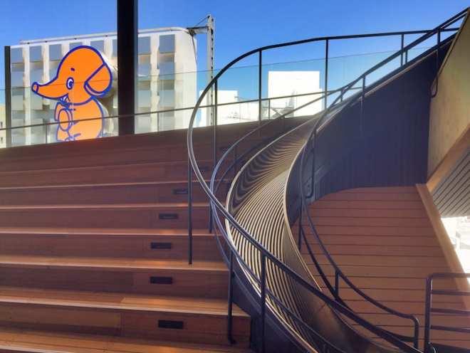 orizuru tower slide