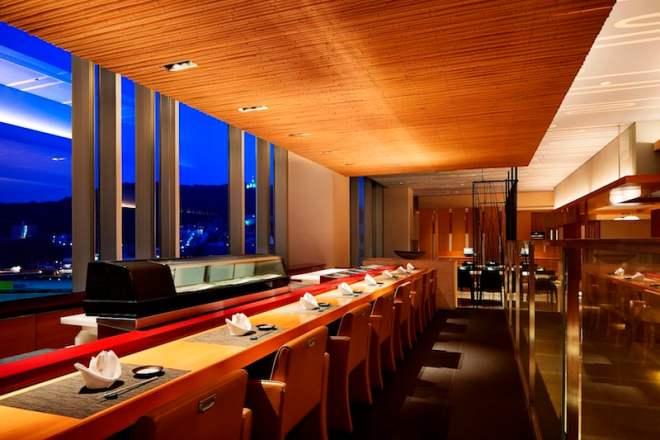 sheraton hotel hiroshima miyabi-tei sushi bar