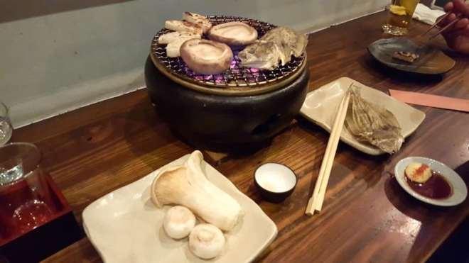 aburiya hachisuke robatayaki japanese grill in hiroshima