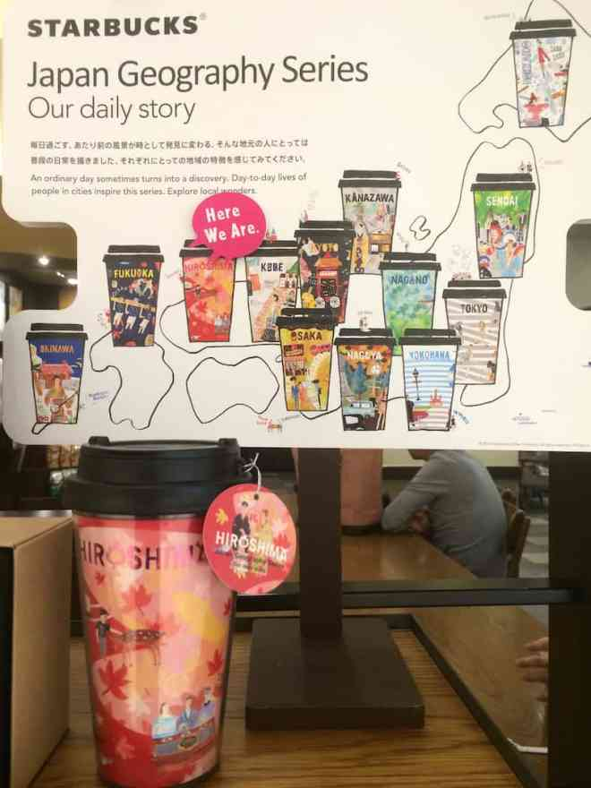 starbucks-japan-geogrpahy-hiroshima-display