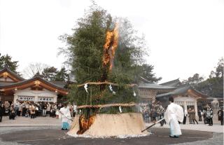 tondo festival gokoku shrine hiroshima