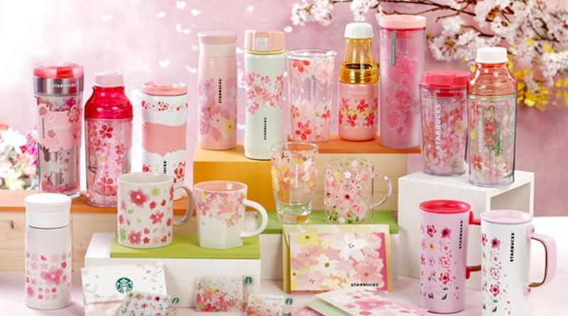 Starbucks 2017 sakura collection- Harmony