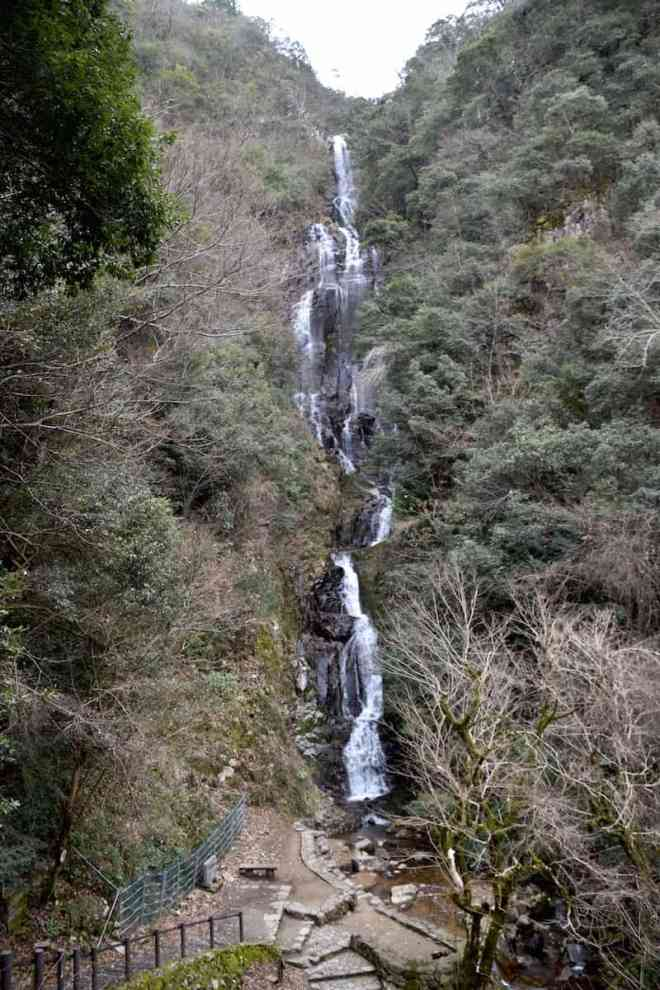 Full view of Joseidaki falls