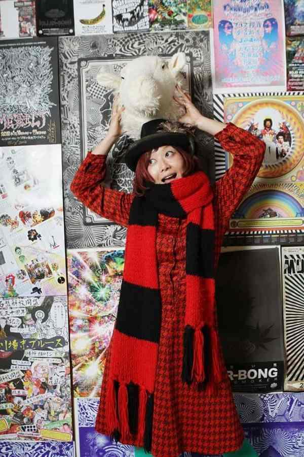 Goto Izumi at Haro's studio