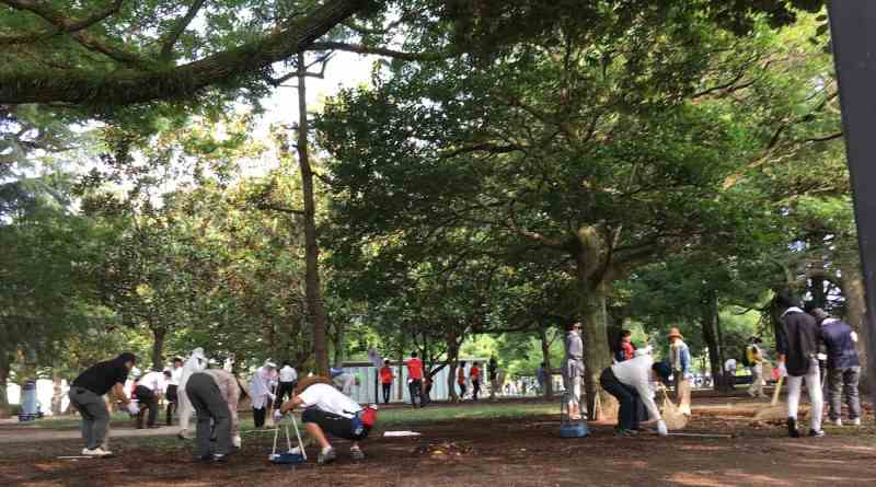 Hiroshima Peace Memorial Park Clean Up