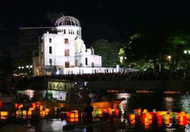 Floating Lanterns in Peace Memorial Park