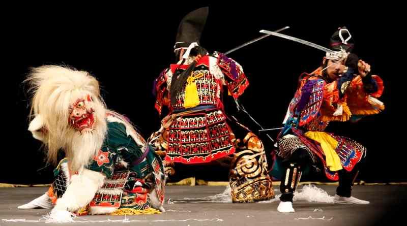 Minamoto no Yorimasa performed by the Suzuhari Kagura Troupe
