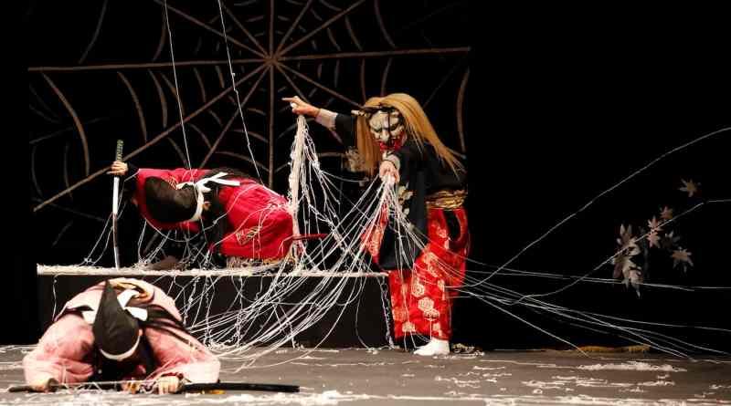 Tsuchigumo performed by the Kinsho Kagura-dan
