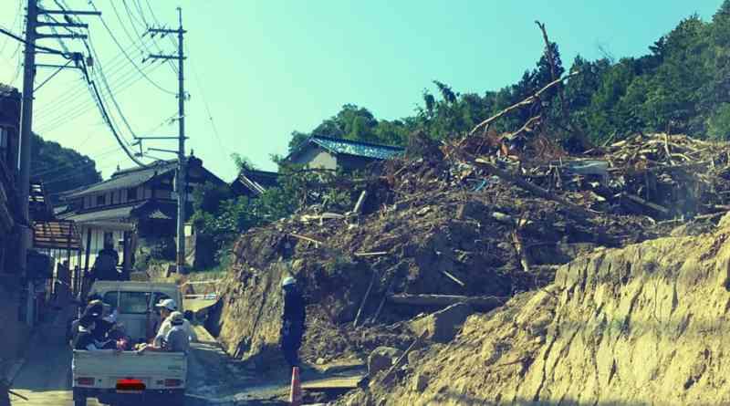 Volunteering (Kuchita) 1 Month After the Disaster