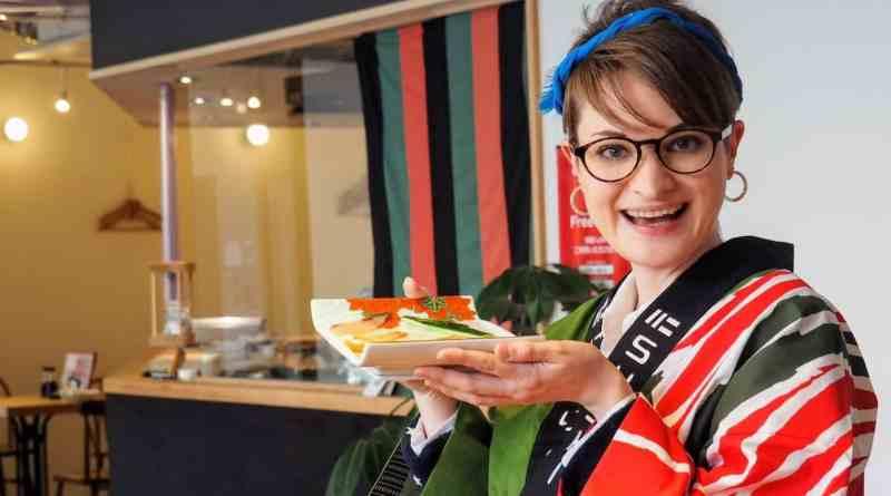Make your own sushi at Nigiri-za