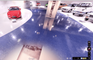 mazda museum on google street view
