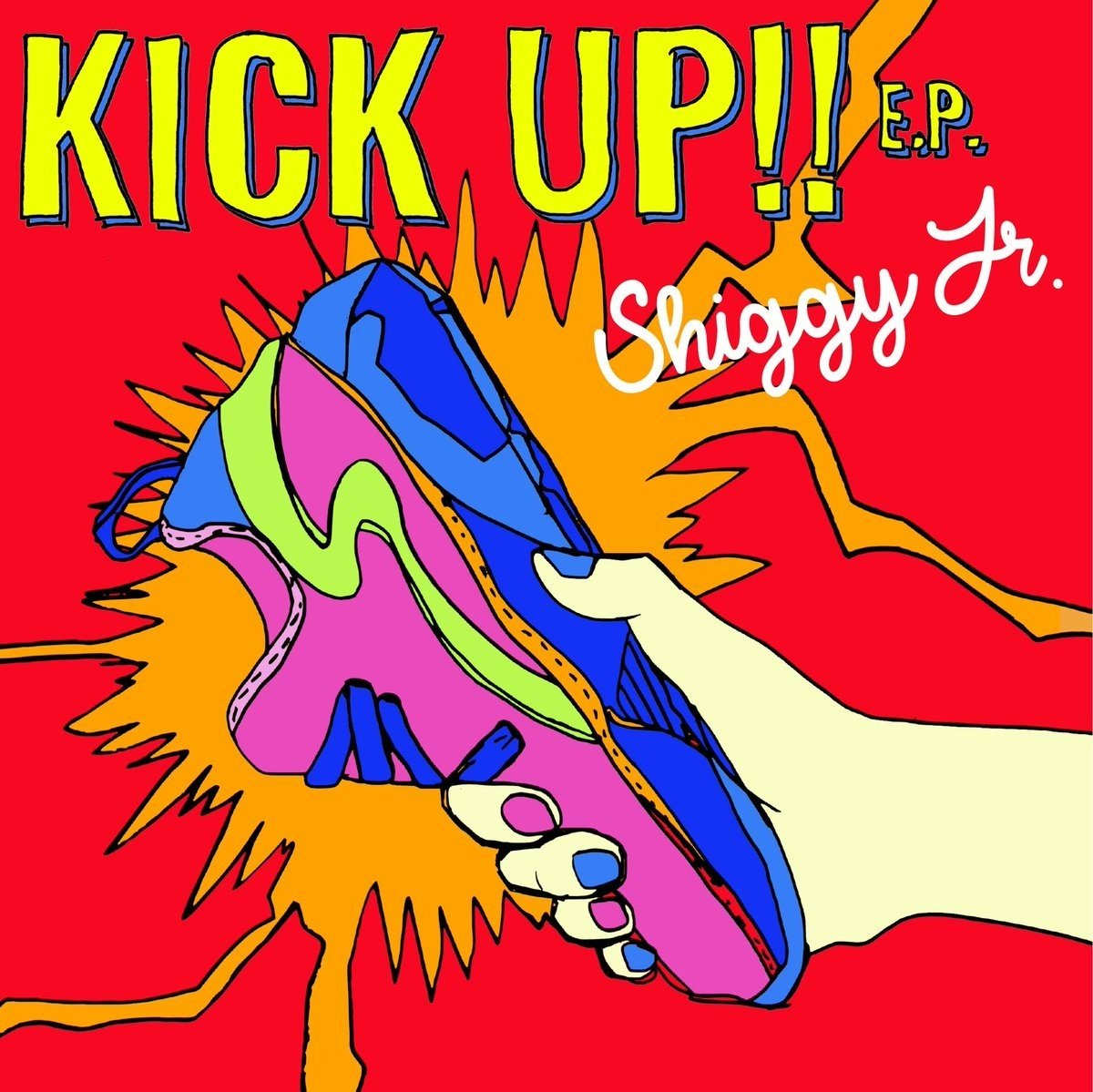 [Single] Shiggy Jr. – KICK UP!! E.P. [FLAC / 24bit Lossless / WEB] [2018.05.23]