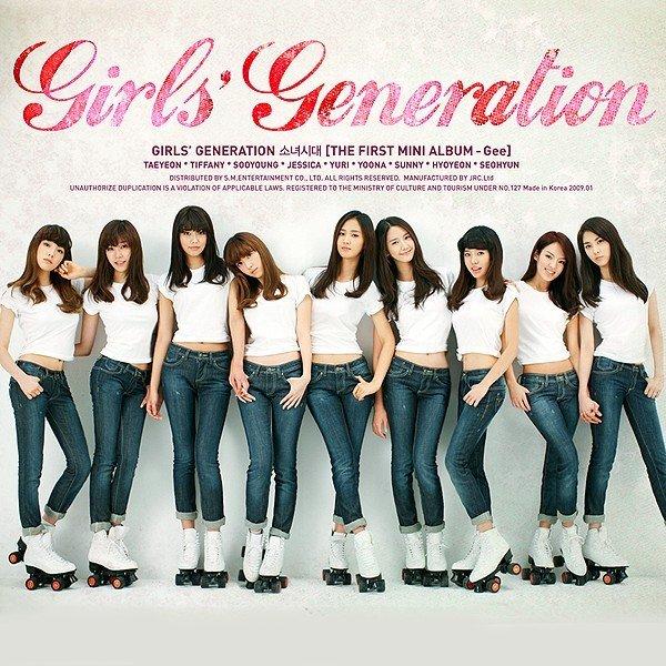 [Single] Girls' Generation (소녀시대/少女時代) – Gee – The First Mini Album [FLAC / 24bit Lossless / WEB] [2…