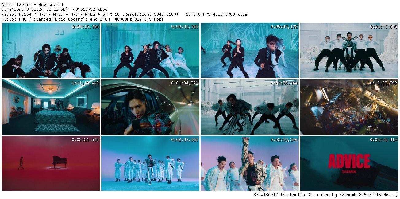 [MUSIC VIDEO] Taemin – Advice (2021.05.18/MP4/RAR)