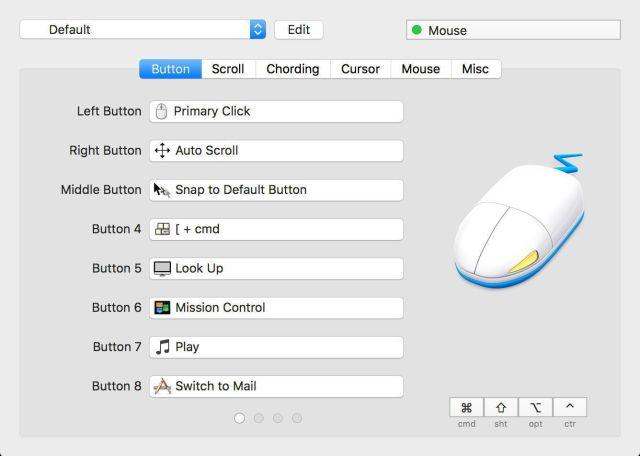 SteerMouse For Mac OS X