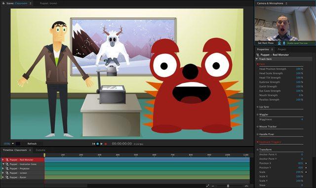 Adobe Character Animator For MacOSX