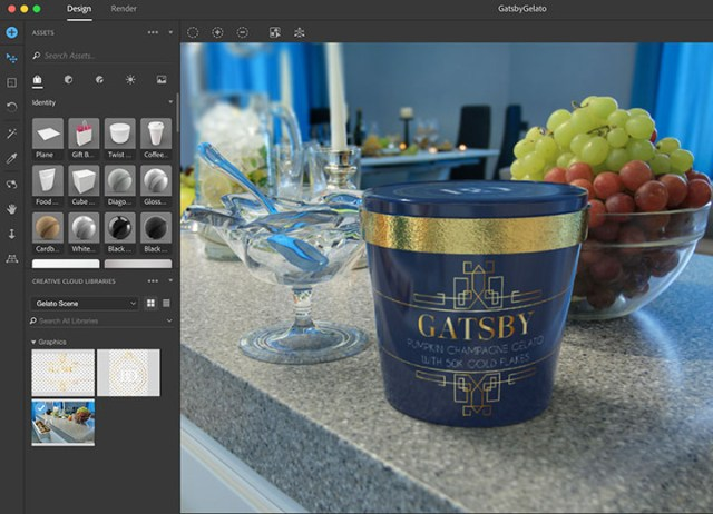 Adobe Dimension CC 2018 For MacOSX