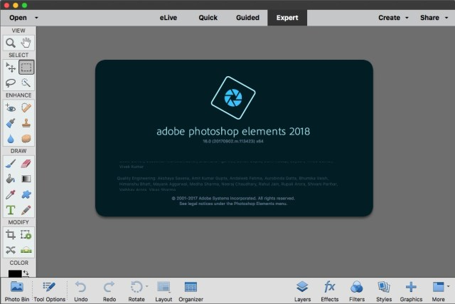 Adobe Photoshop Elements For MacOSX