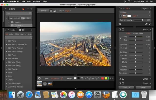 Alien Skin Exposure X3 Bundle For Mac OS X