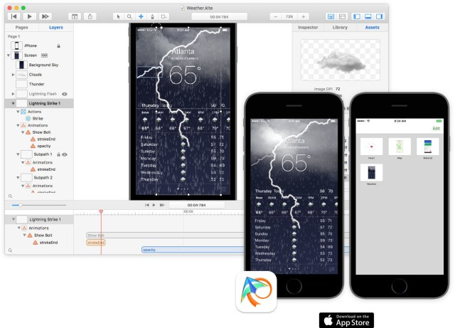 Kite Compositor For MacOSX