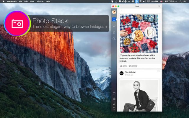 PhotoStack For Mac OS X