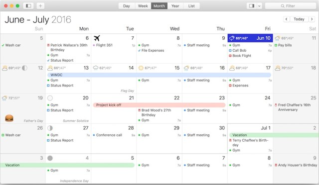 BusyCal For MacOSX