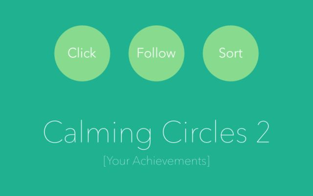 Calming Circles For MacOSX