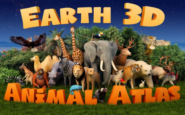 Earth 3D Animal Atlas For MacOSX