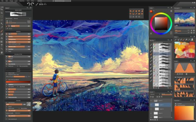 Paintstorm Studio For MacOSX