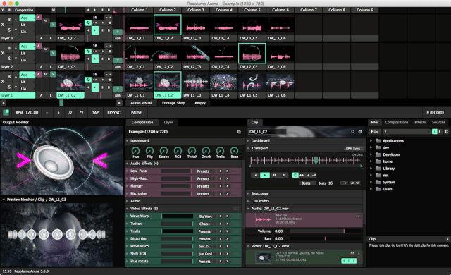 Resolume Arena For MacOSX