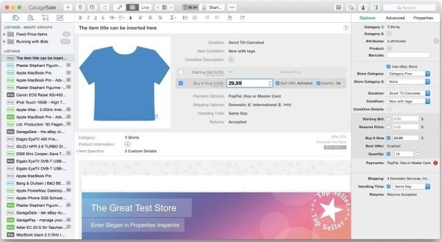 GarageSale For Mac OS
