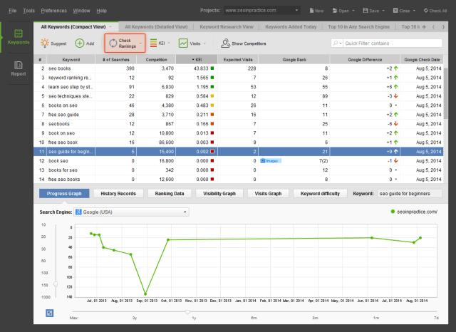 Rank Tracker For Mac OSX