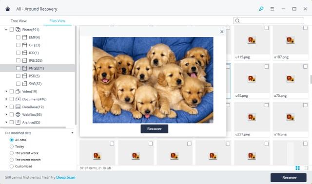 Wondershare Recoverit Mac OS