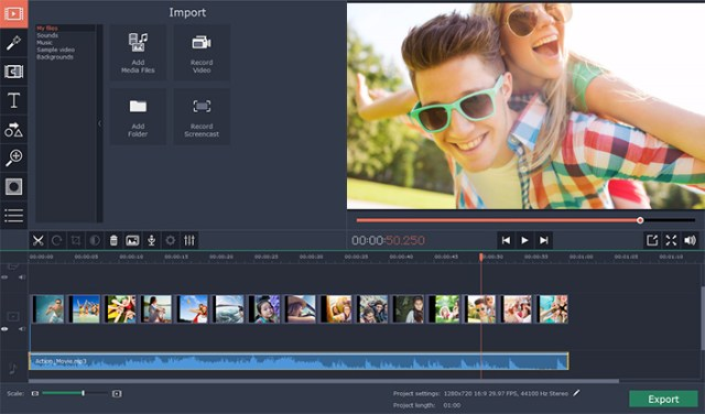 Movavi Video Editor mac