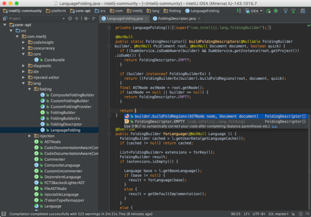 IntelliJ IDEA mac