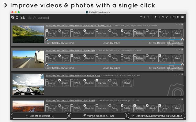 liquivid Video Improve mac