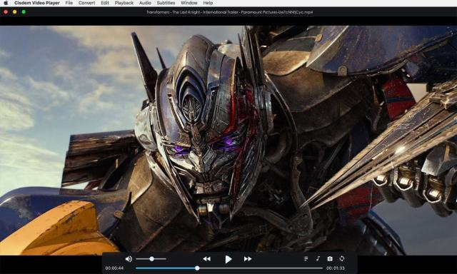 Cisdem Video Player mac