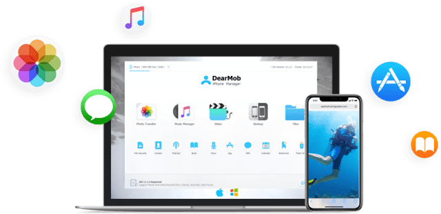 DearMob iPhone Manager mac
