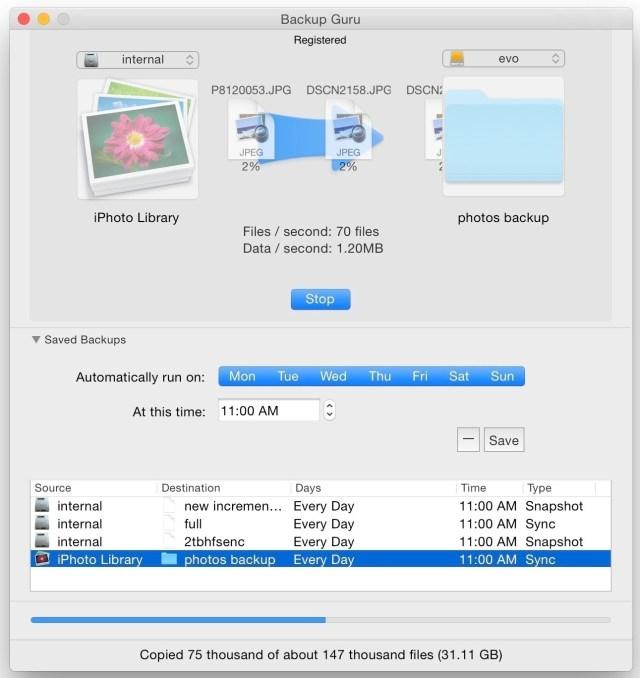 Mac Backup Guru mac