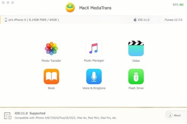 MediaTrans mac