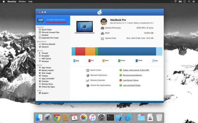 iBoostUp Premium mac