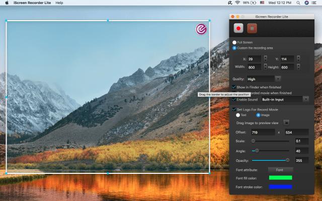 iScreen Recoder mac