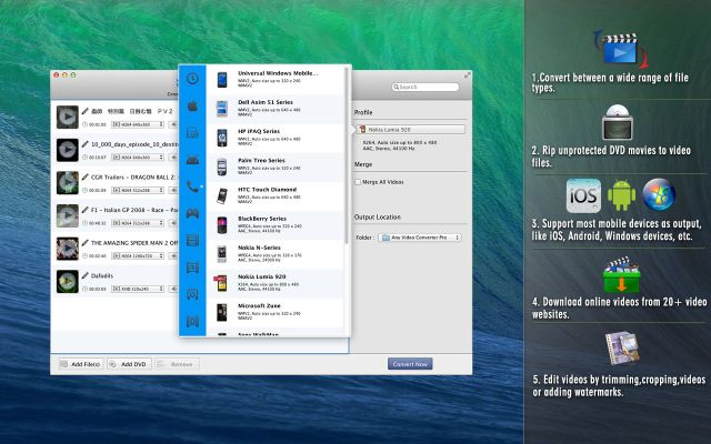 Any Video Converter Pro mac