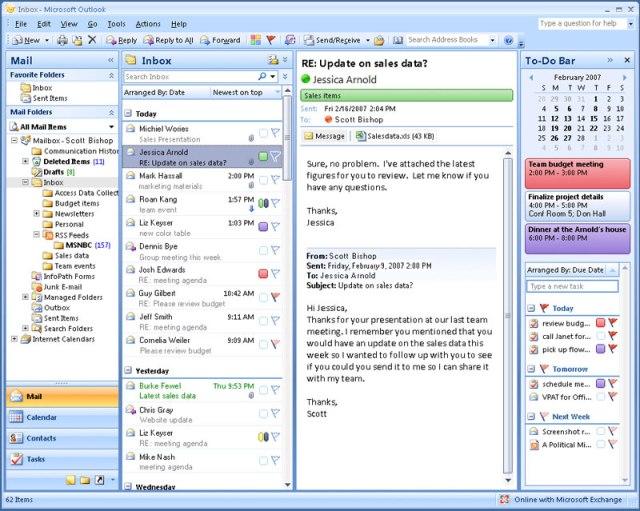 Microsoft Outlook mac