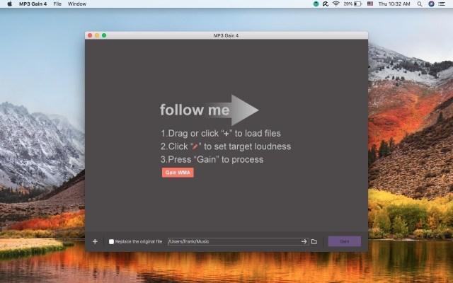 MP3 Gain Mac