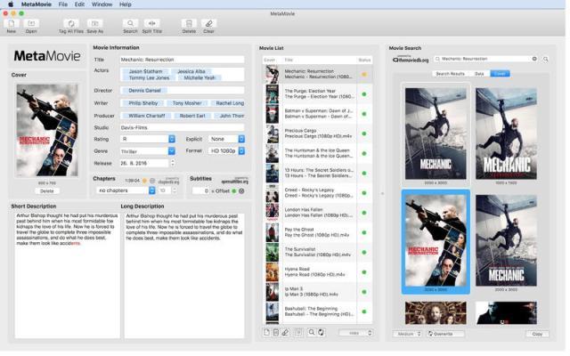 MetaMovie Mac