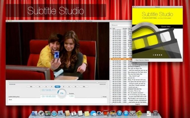 Subtitle Studio Mac