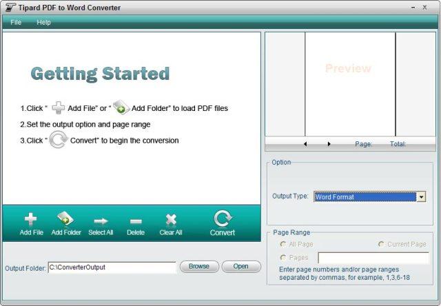 Tipard PDF Converter Mac